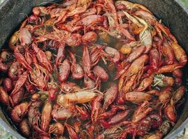 Comment faire Juicy Crawfish Boiled